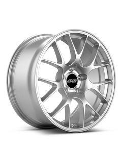 "18x9"" ET42 Race Silver APEX EC-7 Wheel"