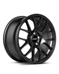 """18x9"""" ET42 Satin Black APEX EC-7 Wheel"""