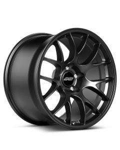 """8x11"""" ET25 Satin Black APEX EC-7 Wheel"""