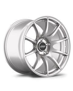 "18x9.5"" ET22 Race Silver APEX SM-10 Wheel"