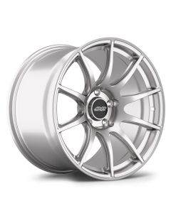 "18x11"" ET44 Race Silver APEX SM-10 Wheel"