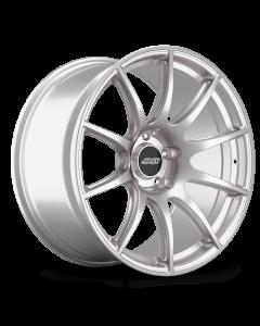 "19x9.5"" ET22 Race Silver APEX SM-10 Wheel"