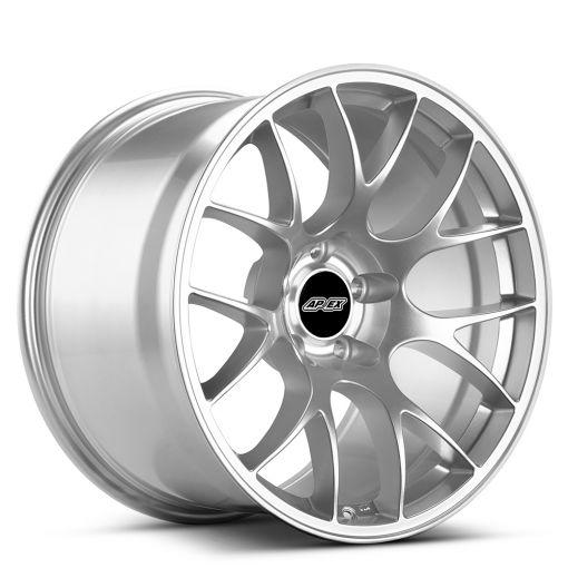 "18x10"" ET25 Race Silver APEX EC-7 Wheel"