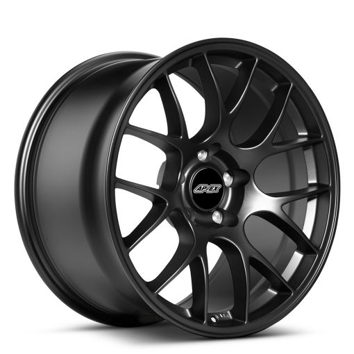 "18x9.5"" ET35 Satin Black APEX EC-7 Wheel"