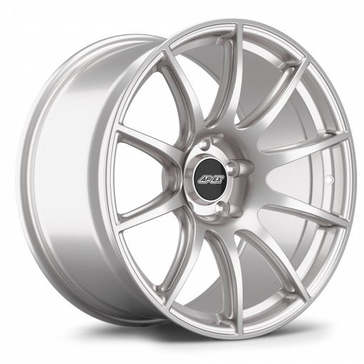 "19x10.5"" ET22 Race Silver APEX SM-10 Wheel"