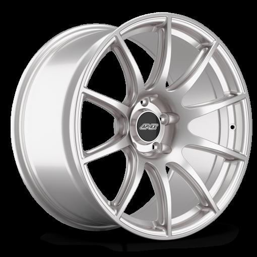 "19x11"" ET44 Race Silver APEX SM-10 Wheel"