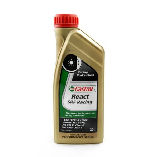 Castrol React SRF Racing brake fluid DOT 4 1L